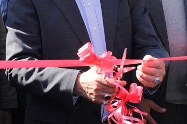 7 پروژه در حاجی آباد افتتاح شد