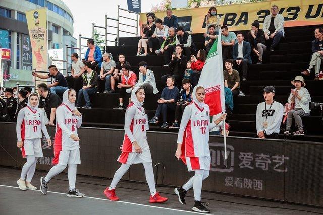حذف دختران بسکتبال سه نفره ایران از المپیک آرژانتین