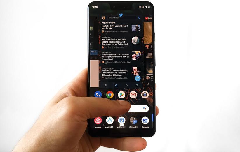 گوگل اعلام نمود حالت تاریک عمر باتری گوشی را افزایش می دهد