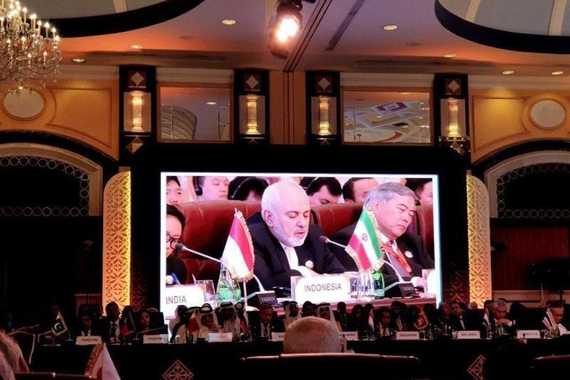 ظریف در دوحه: اعمال اراده یک قدرت بر دیگر ملت ها تهدیدی برای همگان است