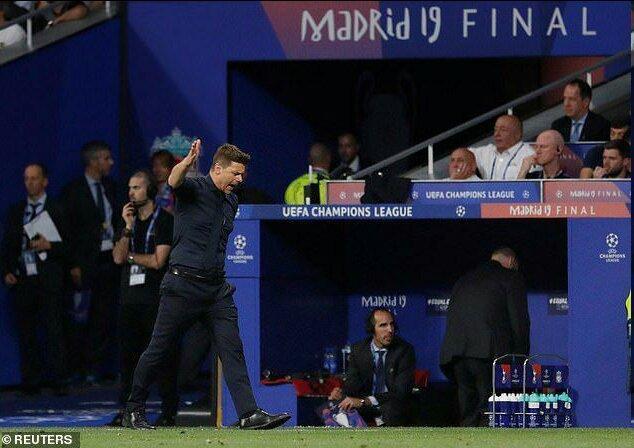 افسوس پوچتینو از شکست در فینال لیگ قهرمانان