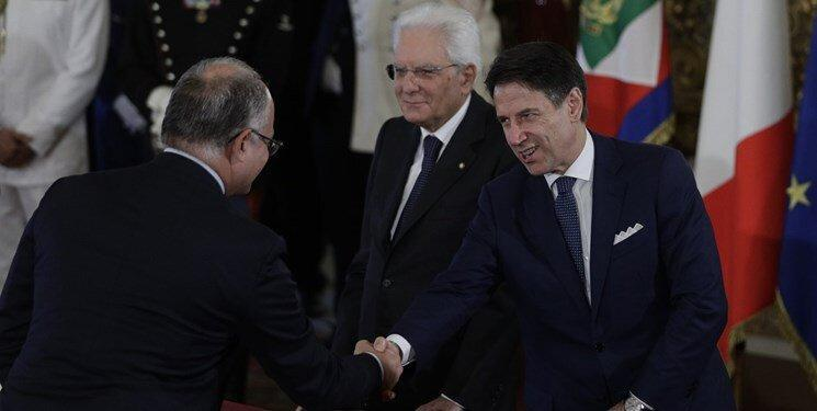 دولت ائتلافی جدید ایتالیا سوگند یاد کرد