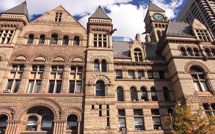 این بنای معروف زمانی شهرداری تورنتو بوده است!