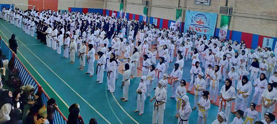 مسابقات قهرمانی کشور بانوان سبک کیوکوشین KWF برگزار گشت