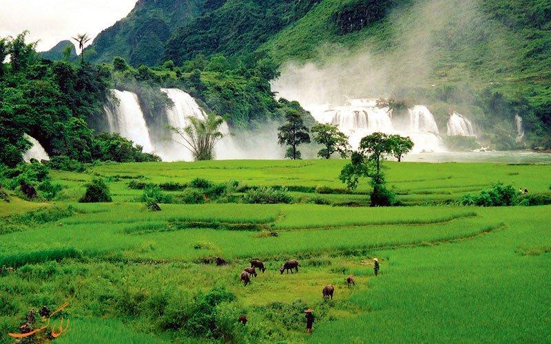 اینجا طبیعت بی نظیر ها گیانگ در ویتنام است!