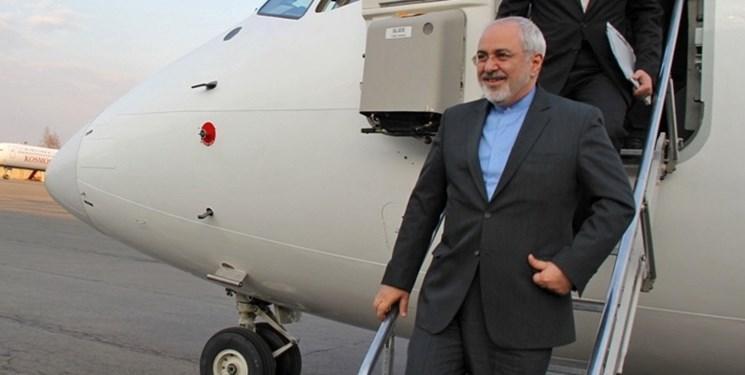 ظریف پس از سفر به چهار کشور اروپایی وارد تهران شد