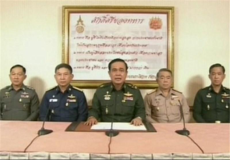 کودتاچیان قانون اساسی تایلند را لغو کردند