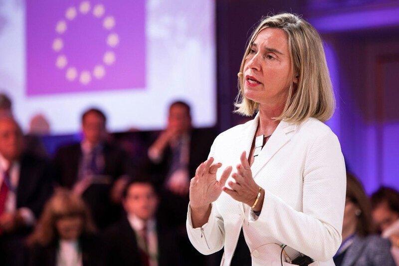 موضع موگرینی درباره تحریم ترکیه از سوی اتحادیه اروپا