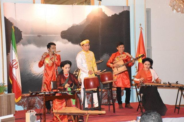 هفته فرهنگی ویتنام در کاخ نیاوران به انتها رسید