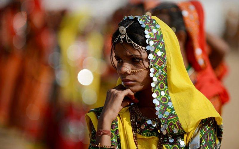 لباس سنتی هندی ها