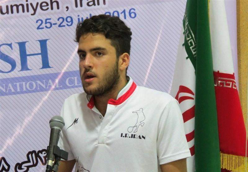 زارعیان مدال طلای خود را تقدیم شهدای مدافع حرم کرد