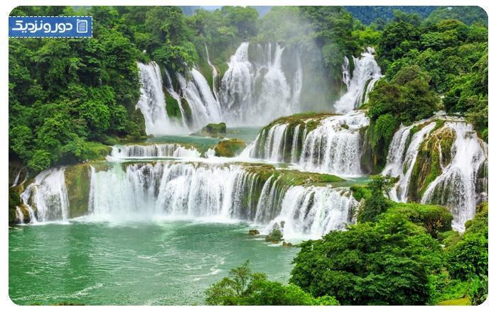 آبشارهای معروف جهان در چه نقاطی قرار دارند؟