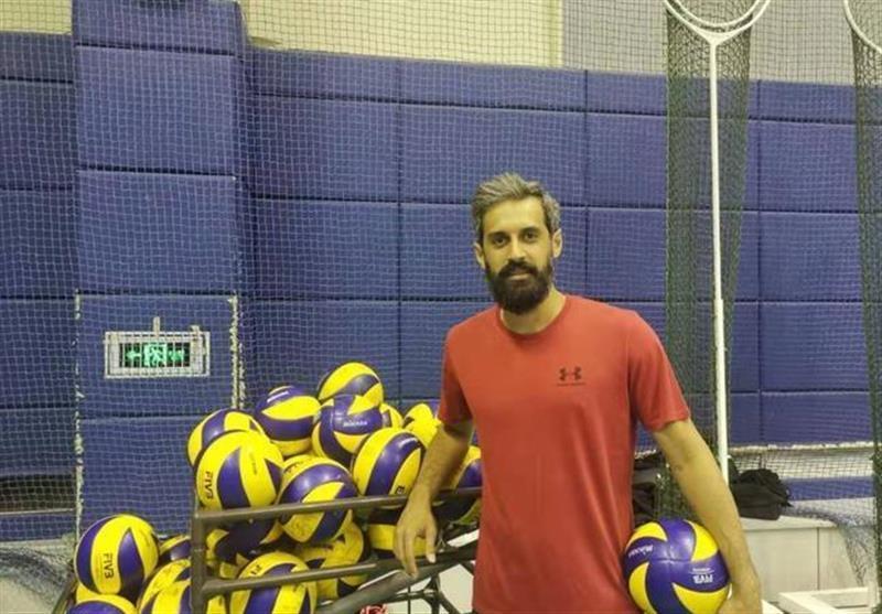 معروف، یکی از 12 بازیکن خارجی لیگ والیبال چین