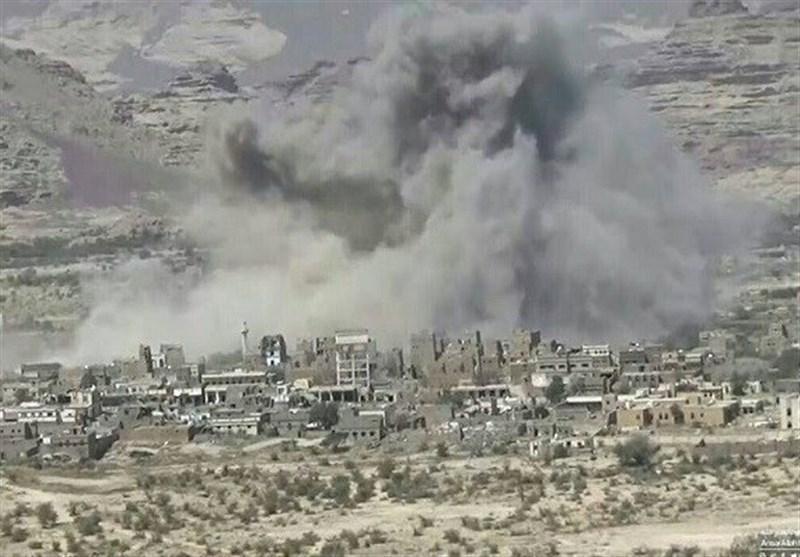یمن، حملات موشکی و توپخانه ای عربستان به استان صعده