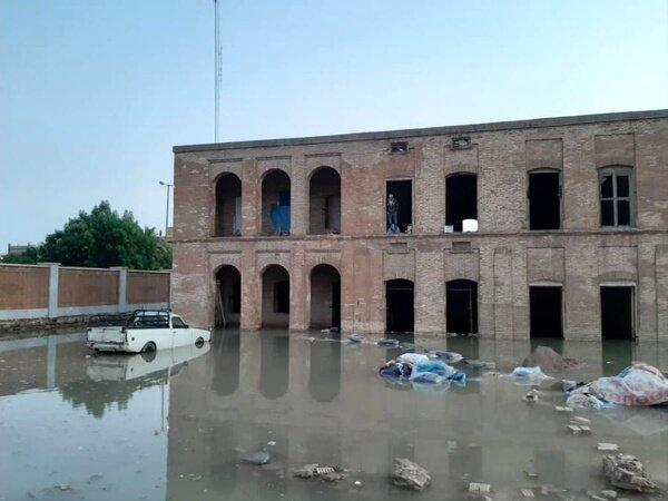 خسارت به 6 اثر تاریخی خوزستان در بارندگی اخیر