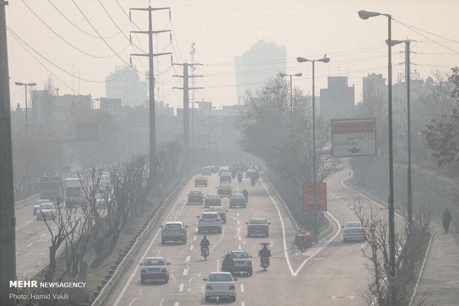 عوامل آلودگی هوا به روایت آمار ، کدام آلاینده ها نفس شهر تهران را گرفته اند؟