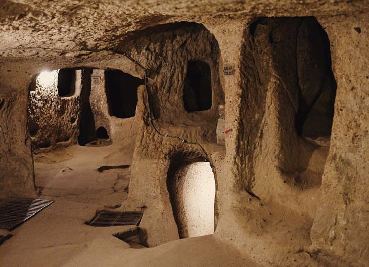 درینکویو Derinkuyu Underground City- ترکیه