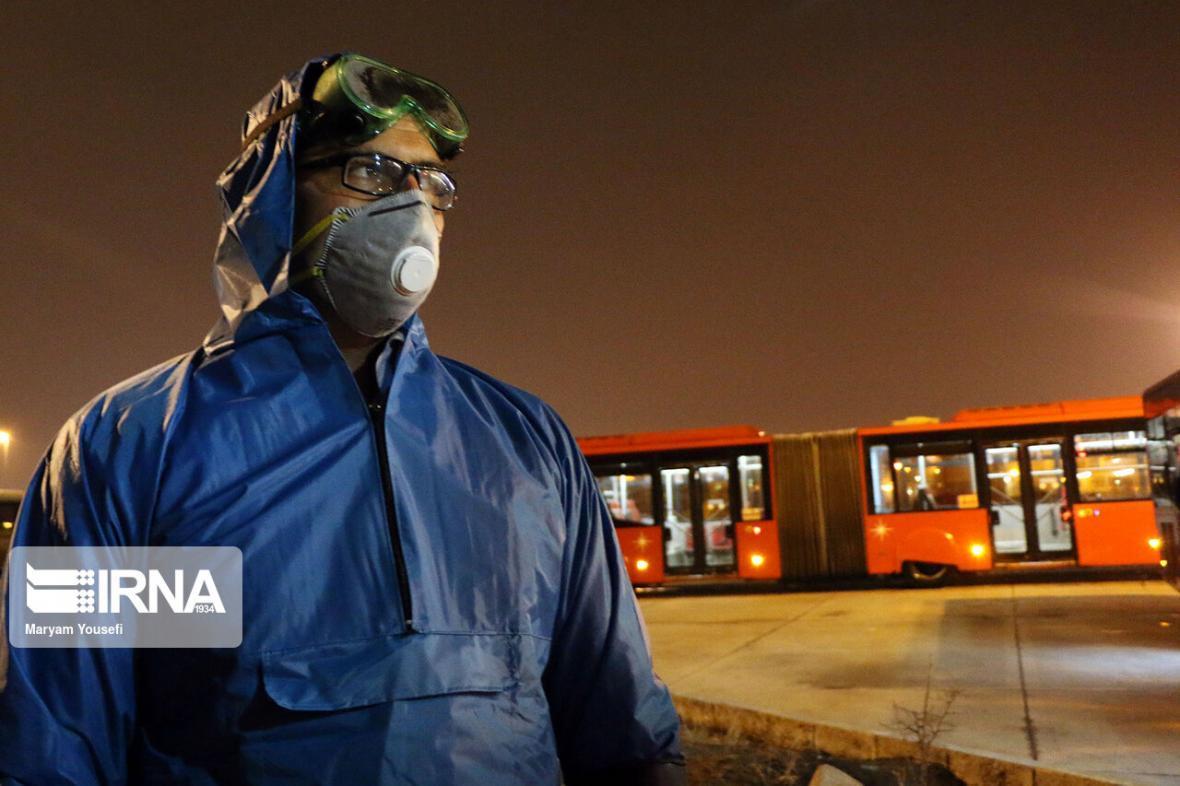 خبرنگاران تشدید کنترل بیماری کرونا در ناوگان مسافربری خراسان شمالی