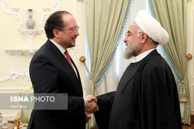 وزیر خارجه اتریش: گفت وگوهای صادقانه ای با مقامات ایرانی داشته ام