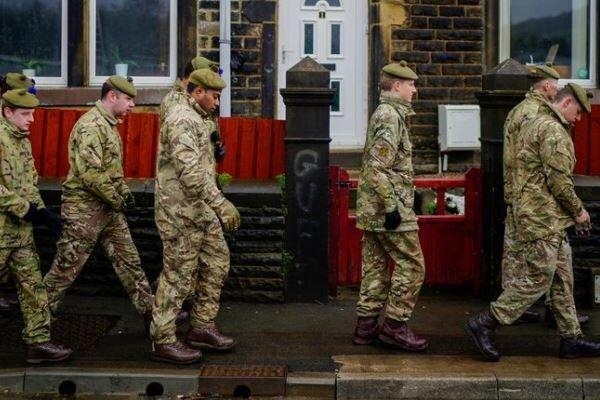انگلیس ارتش را برای مقابله با کرونا به میدان آورد