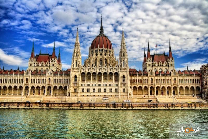 ساختمان مجلس بوداپست؛از باشکوه ترین بناهای اروپا