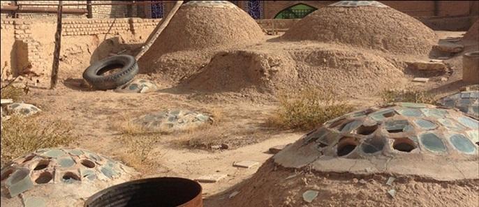 مرمت حمام چهارسوق شاهرود
