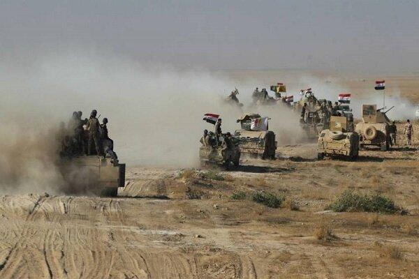 عملیات پیروز نیروهای عراقی علیه تروریستهای داعش در جنوب کرکوک
