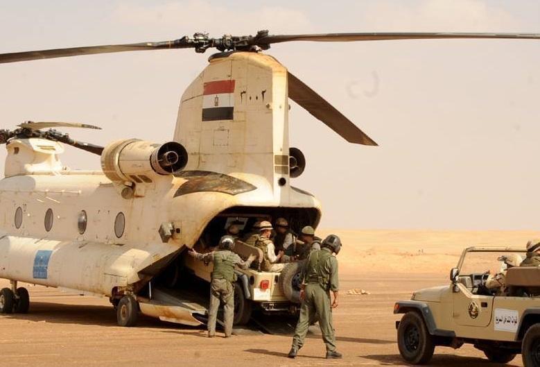 عکس، ارتش مصر عملا وارد درگیری جبهه لیبی شده است