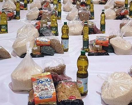 اهدای 200 بسته معیشتی در قالب طرح ضیافت در مراغه