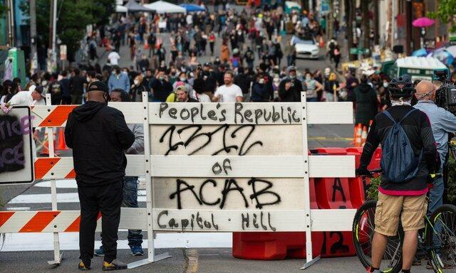 اختلاف ترامپ با مقام های سیاتل بر سر منطقه خودمختار معترضان