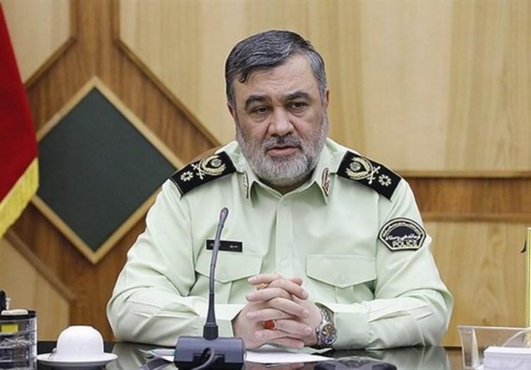 فرمانده ناجا: چند نفر در ارتباط با آتش سوزی ها بازداشت شدند