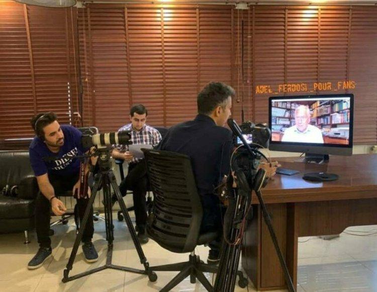 گفت وگوی جالب فردوسی پور با گزارشگر معروف انگلیسی