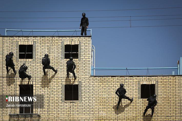 مردان ماموریت سخت (گزارش تصویری)