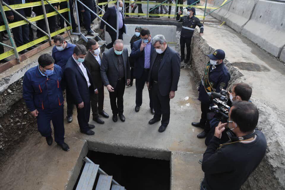 خبرنگاران شهردار تهران: برای سیل های دوره ای پایتخت احتیاج به آمادگی داریم