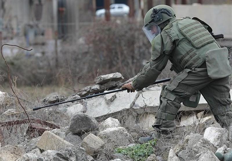 نظامیان روسیه حدود 5 هزار مورد مواد منفجره را در قره باغ خنثی کرده&zwnjاند