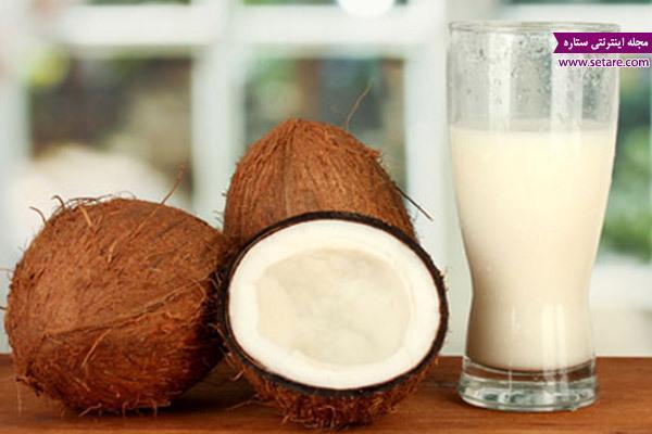 خواص شیر نارگیل چیست؟