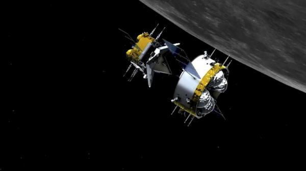 ماهنورد چین در راه بازگشت به زمین