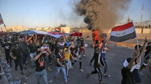 تظاهرات در ناصریه برای مشخص سرنوشت فعالان عراقی