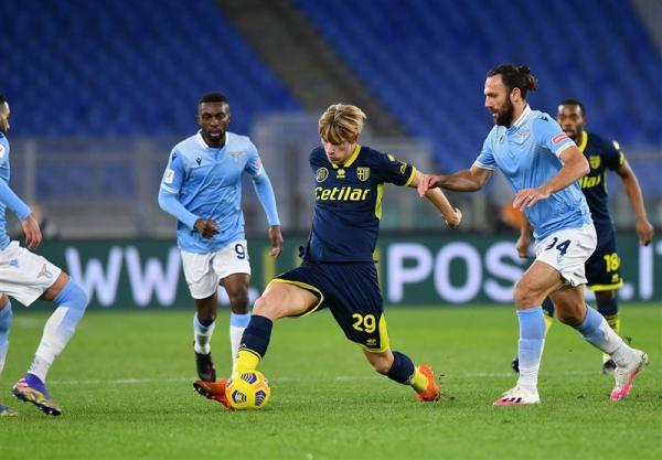 جام حذفی ایتالیا، لاتزیو با شکست پارما حریف آتالانتا شد