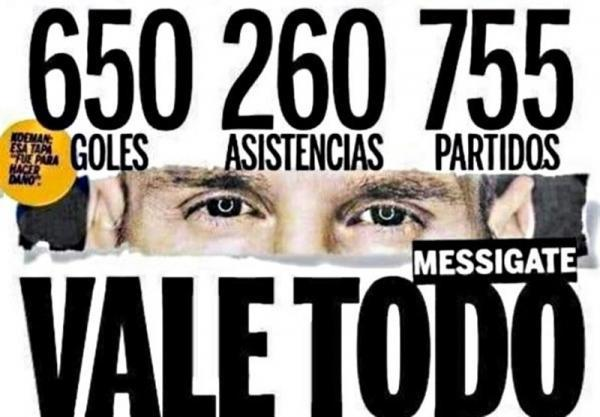 مقابله به مثل رسانه های آرژانتینی در واکنش به گزارش موندو دپورتیوو، سود حداقل 100 میلیون یورویی بارسلونا به لطف مسی