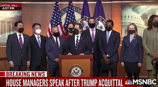 تیم استیضاح کننده ترامپ: جمهوری خواستار مدارک را پنهان کردند