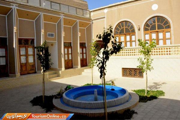 بهره برداری از یک اقامتگاه سنتی در یزد