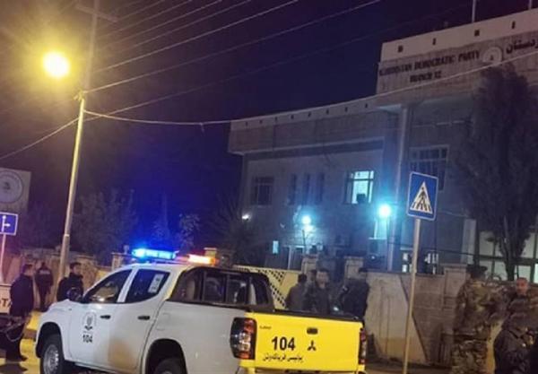کردستان عراق، تیراندازی به مقر حزب دموکرات کردستان عراق در حلبچه