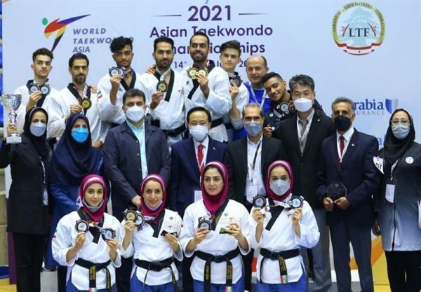 پومسه قهرمانی آسیا، نایب قهرمانی ایران با کسب 11 مدال رنگارنگ، نظری بهترین مربی آسیا شد