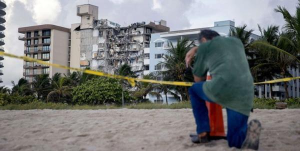 حادثه مرگبار فلوریدا؛ ناامیدی خانواده ها از عملیات جستجو و امداد