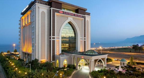برترین هتل های منطقه لارای آنتالیاهتل کرون پلازا