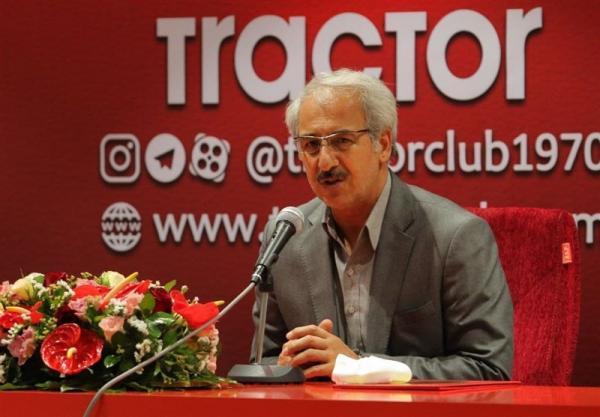 نظمی: مطالبات کنستانت و پاتریک را پرداخت کردیم، شایعه استعفایم صحت ندارد
