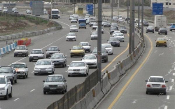 افزایش 2، 7 درصدی ترددهای برون شهری نسبت به روز قبل